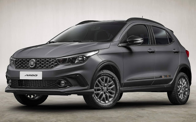 Fiat Argo Trekking 1.8 Automático chega por R$ 68.990