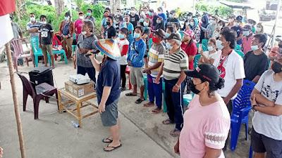 Hari Tani Nasional, OTL Ratatotok Tuntut Hak Petani di Lahan HGU PT. Ratatotok