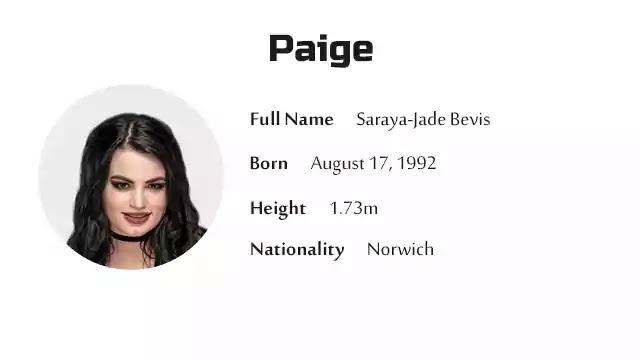 Paige Biography History Net Worth And More