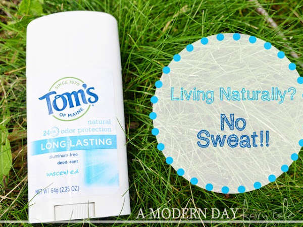 Living Naturally? No Sweat with Tom's of Maine! {#shop #FreshNaturally #cbias #CollectiveBias}