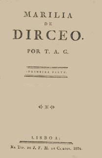 Capa de livro - Matéria Marília de Dirceu - BLOG LUGARES DE MEMÓRIA