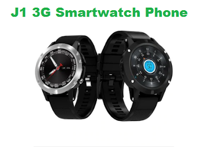 J1 3G Smartwatch Phone With 16GB ROM