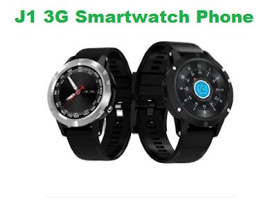 J1 3G Smartwatch Phone With 16GB ROM