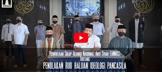 Pernyataan Sikap Aliansi Nasional Anti Syiah (ANNAS) Tentang Penolakan RUU Haluan Ideologi Pancasila