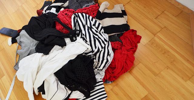 Kleidung aussortiert | vonStephanie