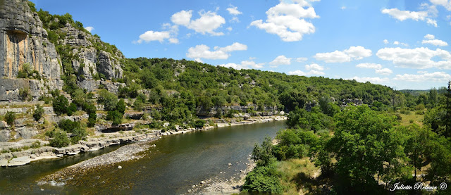 L'Ardèche à Balazuc