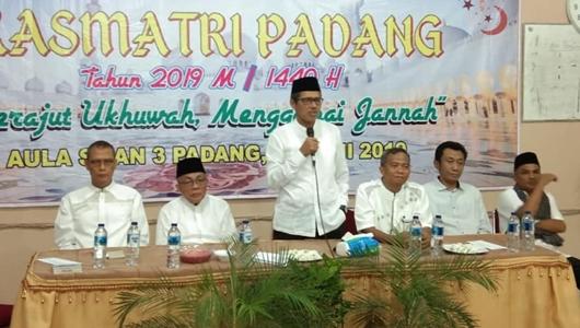 Gubernur Irwan Prayitno Ingatkan Indahnya Menyambung Tali Silaturahmi