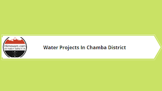Water Projects In Chamba District