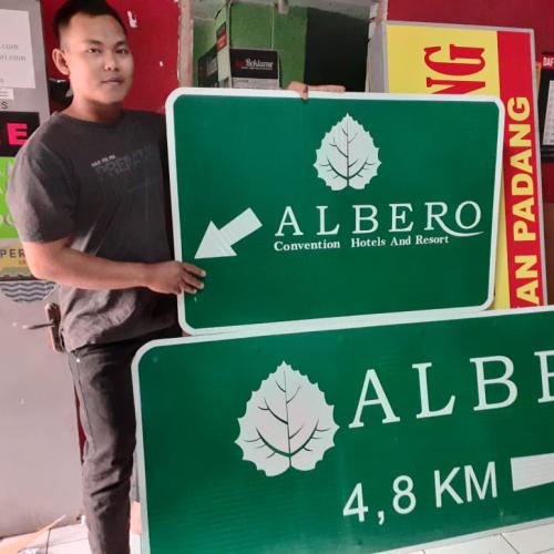 Plang Papan Nama Bogor