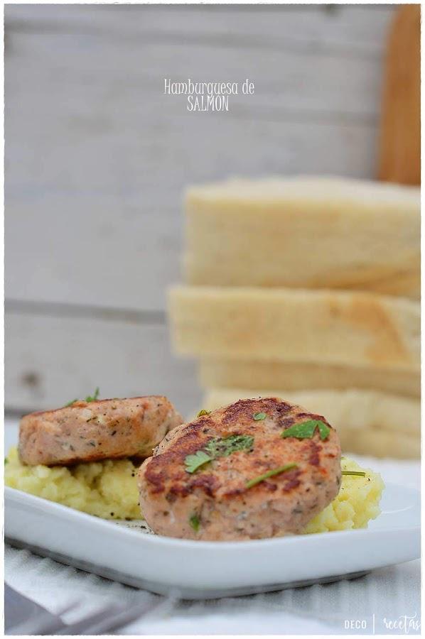 Comida para llevar al trabajo -Trucos y consejos- Receta de Mini hamburguesa de salmón