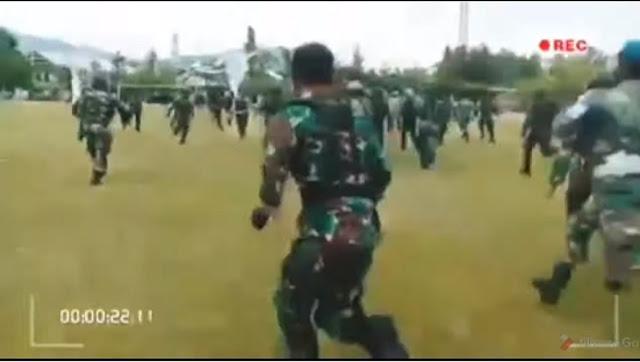Selamatkan Demonstran Usai Dipukuli Oknum Polisi, TNI banjir Pujian