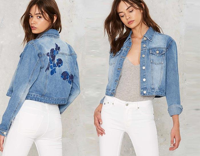 Kot Jeans Modelleri Saç Stiline Göre Kot Ceket Modelleri