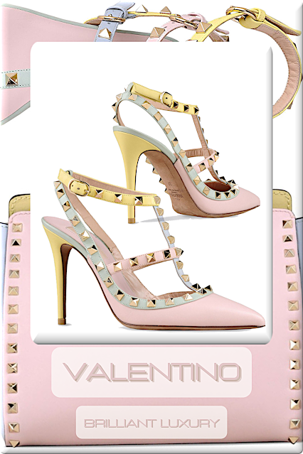 ♦Valentino Watercolor Accessories #shoes #bags #pastelcolour #brilliantluxury