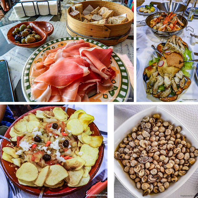 Pratos típicos de Portugal