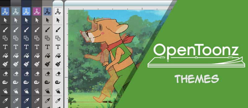 Unofficial Opentoonz Themes