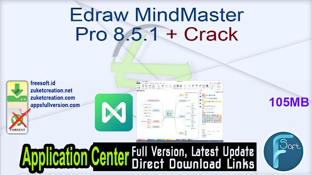 Edraw MindMaster Pro 8.5.1 + Crack