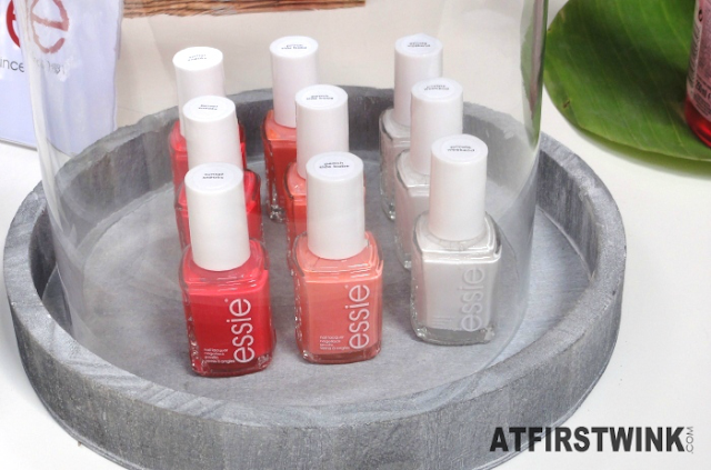 essie summer 2015: sunset sneaks, peach side babe, and private weekend