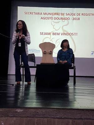 """Unidades de Saúde de Registro-SP são premiadas com o Selo """"Unidade Amiga do Peito"""""""