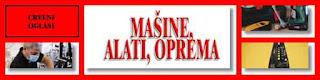 - MAŠINE, ALATI, OPREMA - CRVENI OGLASI