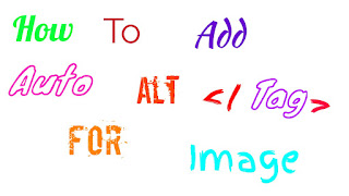 How To Add Auto Alt Tags Generator For Image