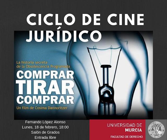 Nueva sesión del Ciclo de Cine Jurídico.