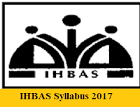 IHBAS Syllabus