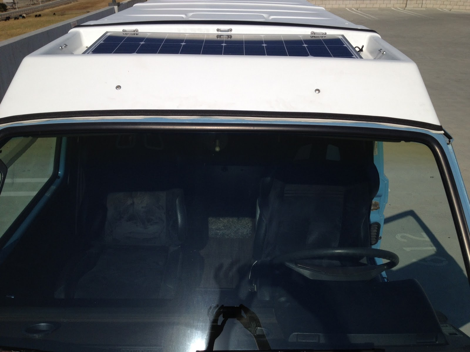 Thesamba Com Vanagon View Topic Solar Panel In The
