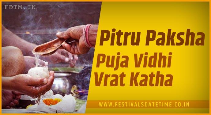 Pitru Paksha Puja Vidhi and Pitru Paksha Vrat Katha