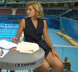 , BBC Helen Skelton's Short Dress A Distraction In Rio 2016 (Photos), Latest Nigeria News, Daily Devotionals & Celebrity Gossips - Chidispalace