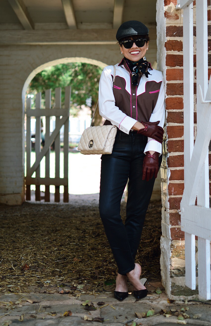 Equestrian style outfit