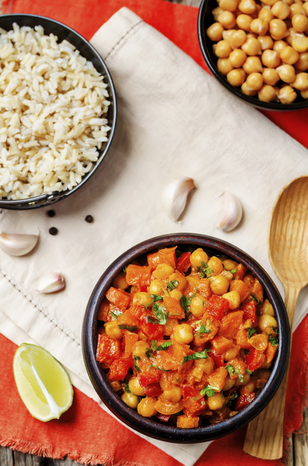 Tomato Chickpea Curry