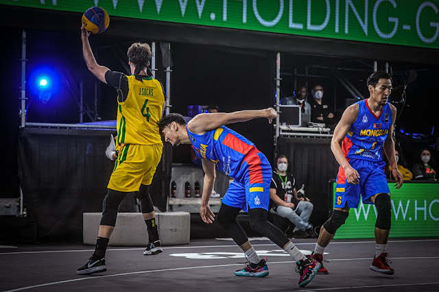 Jefferson Socas é um dos destaques do Brasil no Pré-Olímpico de basquete 3x3