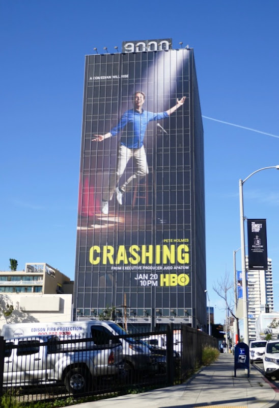 Crashing season 3 HBO billboard