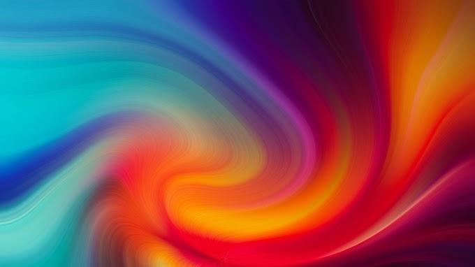 Papel de Parede Abstrato Espiral