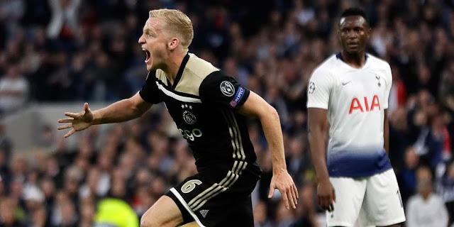 5 Fakta Menarik dari Pertandingan Tottenham kontra Ajax