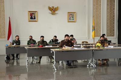 Hadapi Lebaran Pemprov Lampung Ikuti Rakor Nasional Penegakan Disiplin Protokol Kesehatan