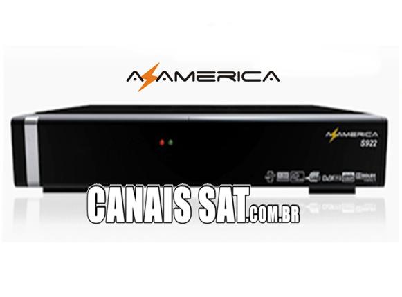 Azamerica S922 em Tocomsat Duo HD + Nova Atualização V2.059 - 23/06/2020
