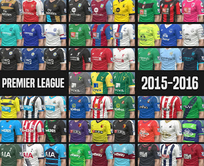PES 2016 Premier League Kitpack 2015-2016 by Kuzmich