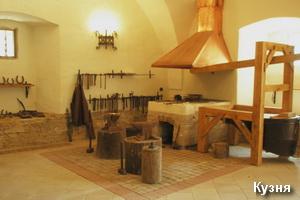 Музей-кузня в замку