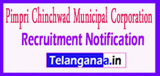 PCMC Pimpri Chinchwad Municipal Corporation Recruitmen tNotification 2017 Last Date 06-05-2017
