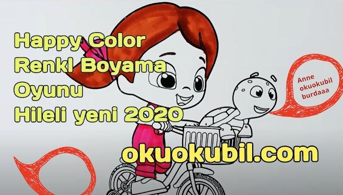 Happy Color v2.6.1 Renkli Boyama Oyunu Hileli Mod Apk İndir 2020