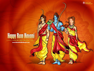 ram navami good morning image