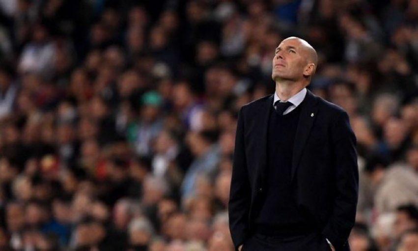 يبدو ان زيدان سيغادر ريال مدريد نهاية الموسم
