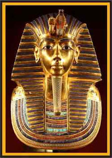 Tutankhamun'un altın maskesi - AWRAQ