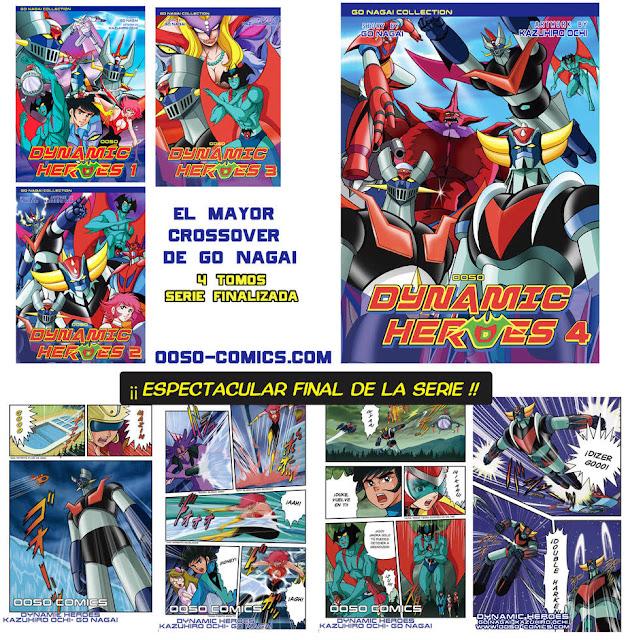 OOSO Comics finaliza DYNAMIC HEROES.