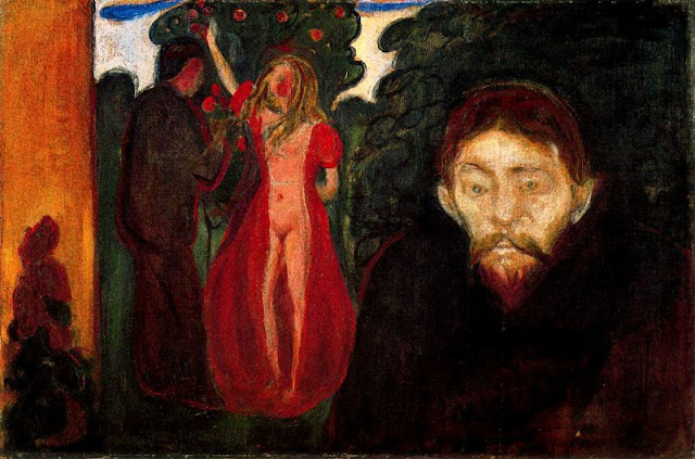 Эдвард Мунк - Ревность. 1895