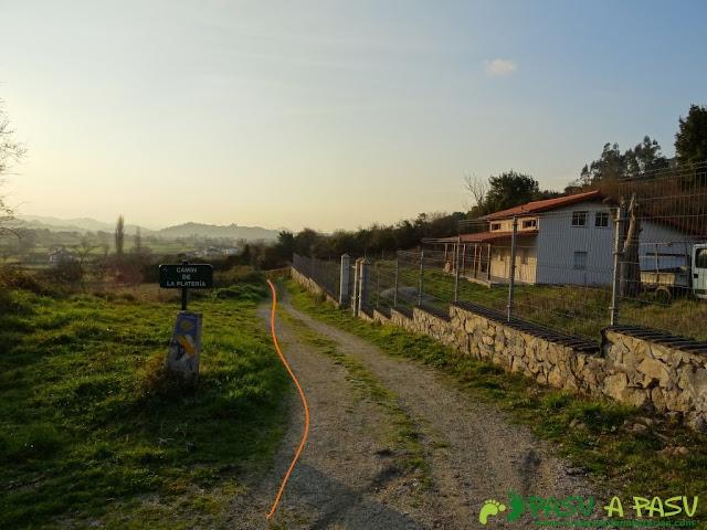 Camino de Santiago a su paso por Sariego