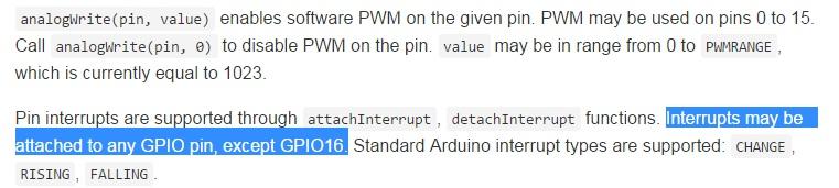 การทำ Interrupt บน Node MCU ESP8266 (devkit 0 9) ด้วย Encoder ตอนที่