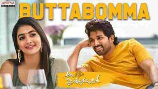 Butta-Bomma-Lyrics
