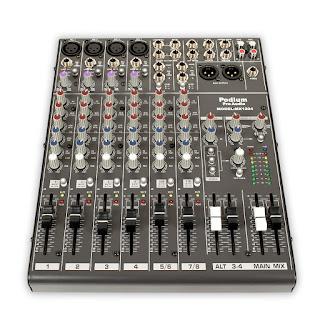 Penyebab Power Amplifier suara kecil - mixer audio